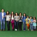 """Mittendrin und kein Entkommen"": Deutschlandpremiere neuer Disney-Sitcom im März – Comedy mit ""Jane the Virgin""-Kinderstar Jenna Ortega – Bild: Disney Channel"