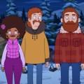 """[UPDATE] """"The Great North"""": Neue Animationsserie startet im neuen Jahr bei FOX – Wenn Alanis Morissette im Nordlicht erscheint – © FOX"""