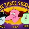 """""""The Three Stooges"""" kehren als Animation auf die Bildschirme zurück – """"Superjail!""""-Macher entwickelt Neuauflage des Klassikers – © Titmouse"""