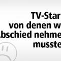 TV-Stars, von denen wir 2015 Abschied nehmen mussten – Erinnerung an 20 herausragende Fernsehschaffende – von Ralf Döbele