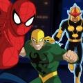 """Ultimate Spider-Man"" steigt bei den Avengers ein – Peter Parker trifft Miles Morales in Staffel 3 – © Disney XD"