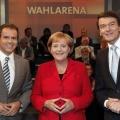 """Das Erste schickt Merkel und Steinbrück in die """"Wahlarena"""" – Fragen aus dem Publikum an die Spitzenkandidaten – Bild: WDR/Herby Sachs"""