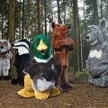 """Bei RTL II wird's """"Wild im Wald"""" – Hindernisparcours-Show mit überdimensionalen Tierkostümen – © RTL II/Sky UK Ltd"""