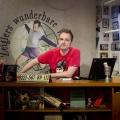 """""""Zeiglers wunderbare Welt des Fußballs"""" musste gestern entfallen – Leitung zwischen Bremen und Köln kam nicht zustande – Bild: WDR/Thorsten Jander"""