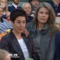 """""""Morgenmagazin"""": Zuschauerin pöbelt Dunja Hayali an – Zwischenfall in ZDF-Livesendung am Dienstagmorgen – © ZDF/Screenshot"""