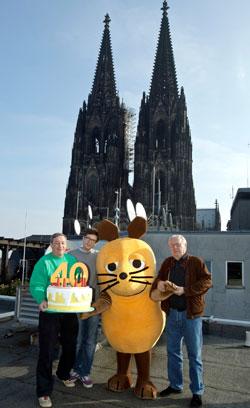 Die Maus-Moderatoren 2011 Bild: WDR/Herby Sachs