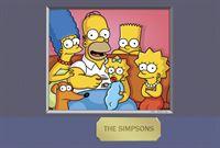 Die Simpsons: Maggie (3.v.l.), Marge (l.), Homer (2.v.l.), Bart (2.v.r.) und Lisa Simpson (r.). – Bild: und TM Twentieth Century Fox Film Corporation - Alle Rechte vorbehalten