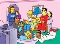 """""""Die Simpsons"""", """"Homer und die Halbzeit-Show."""" Während einer Veranstaltung im Springfield Park kann Homer Bart bei einem Spiel besiegen und verfällt in einen lächerlichen Freudentanz. Flanders schneidet Homers skurrilen Auftritt auf Video mit und stellt den Film ins Internet. Das Interesse ist enorm und die Sportwelt wirft ein Auge auf Homer. Er bekommt das fantastische Angebot, die Halbzeit-Show des Superbowl zu choreographieren. Gemeinsam mit Flanders will Homer dafür ein riesiges Bibelspektakel inszenieren. – Bild: ORF eins"""