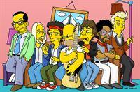 """""""Die Simpsons"""", """"It's only Rock 'n' Roll."""" Homers Familie will ihm einen großen Traum erfüllen und spendiert ihm eine Woche Aufenthalt im 'Rolling-Stones-Fantasie-Lager'. Dort lernt er von Mick Jagger, Keith Richards, Lenny Kravitz und anderen Berühmtheiten wie man ein waschechter Rockstar wird. Selbst ein Auftritt mit seinen großen Idolen scheint in Reichweite zu rücken. – Bild: ORF eins"""