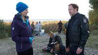 v.l.n.r.: Joggerin (Linda Kochbeck), Kai Timmermann (Mathias Junge) – © ZDF und Marc Meyerbröker