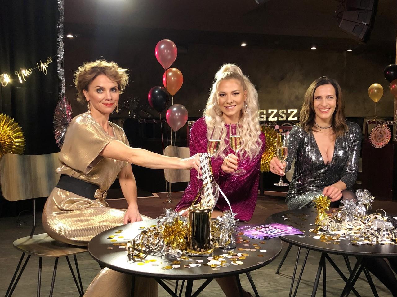 Gisa Zach, Valentina Pahde und Ulrike Frank (v. l. n. r.) TVNOW