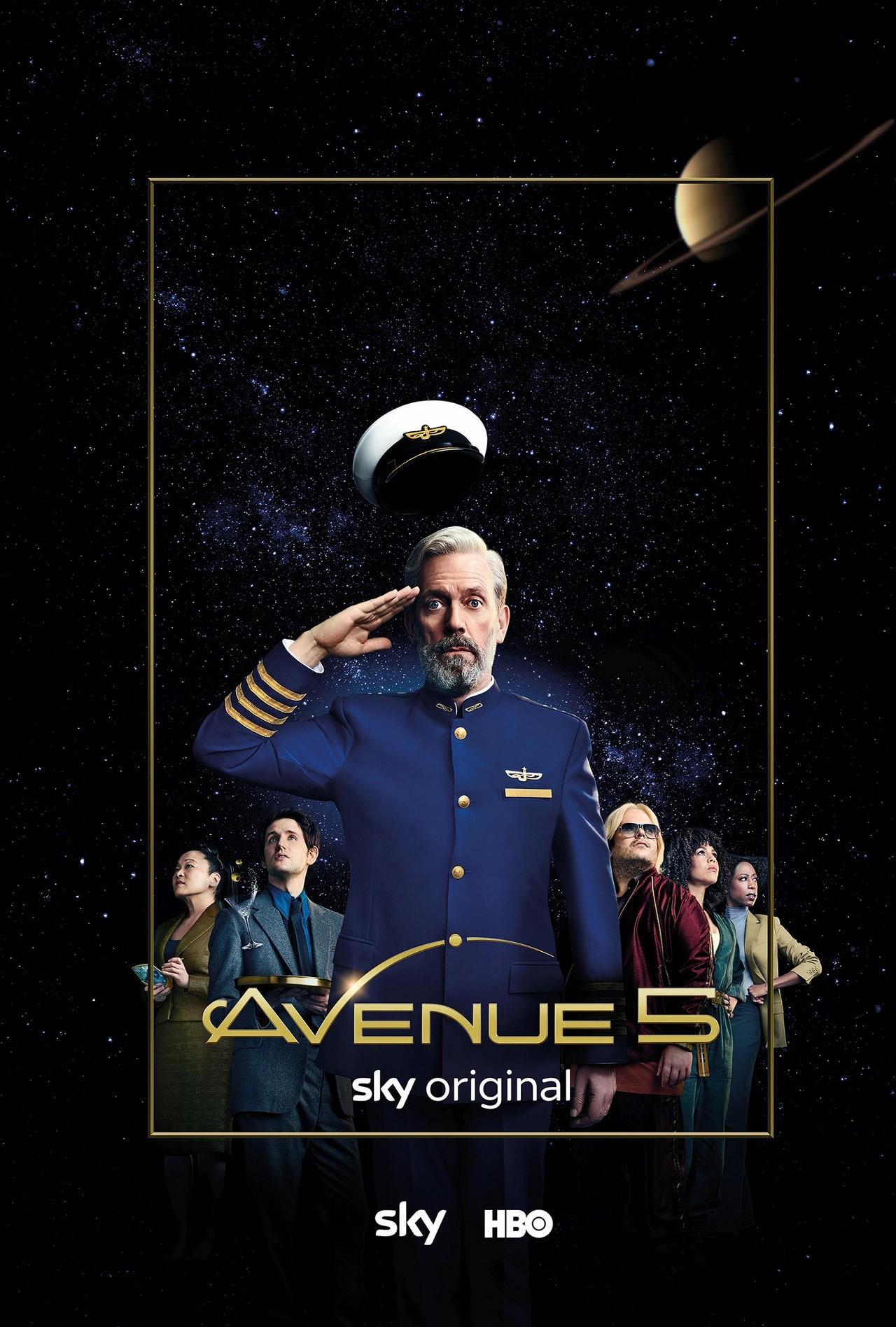 """Poster zu """"Avenue 5"""" Sky"""