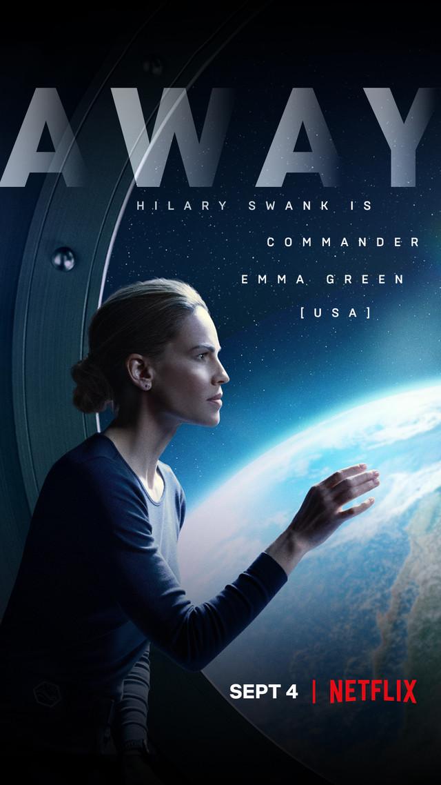 Commander Emma Green (Hilary Swank). Netflix