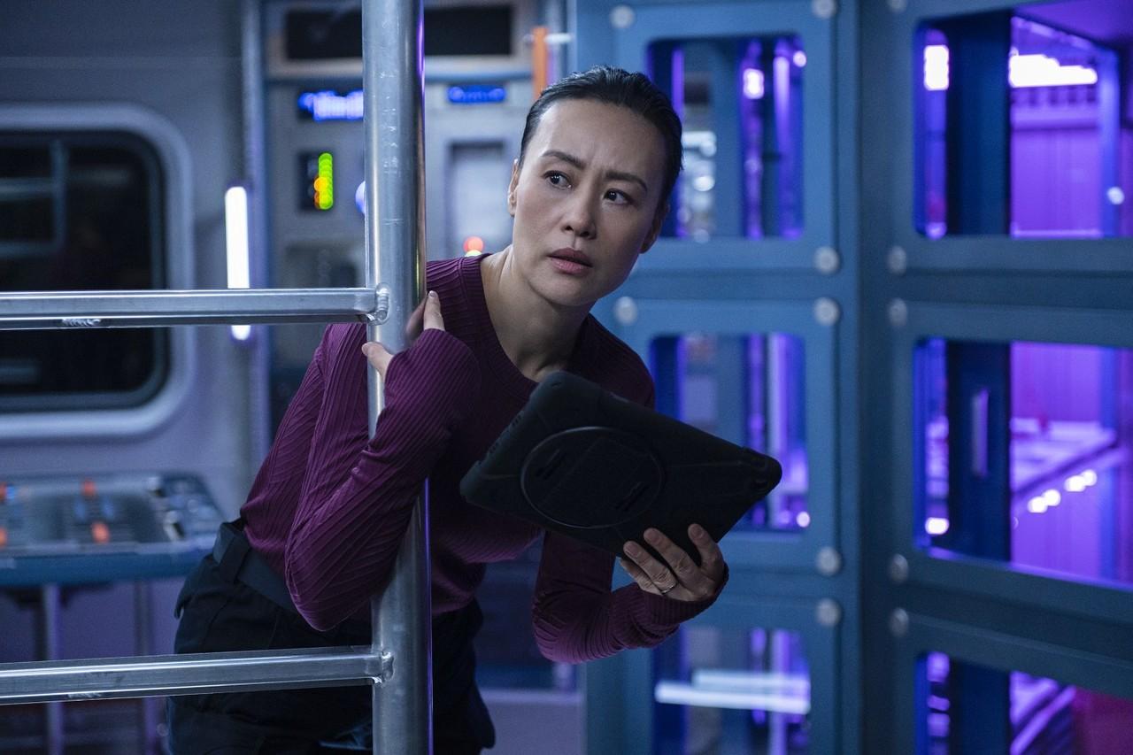 """Lu Wang (Vivian Wu) in """"Away"""". Diyah Pera/Netflix"""