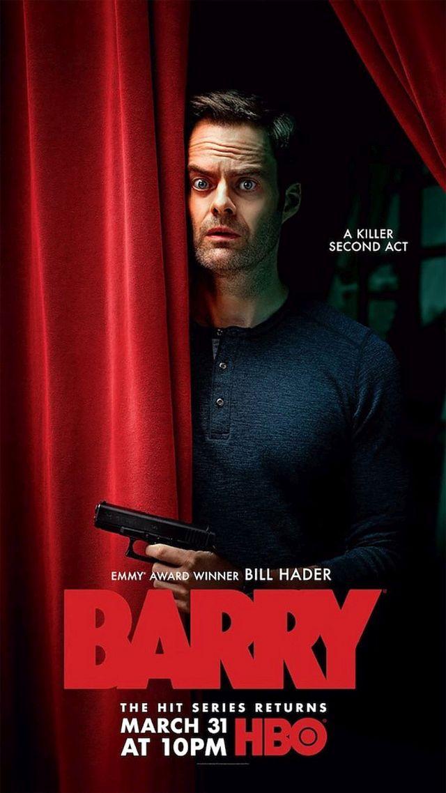"""Poster zur zweiten Staffel von """"Barry"""" HBO"""
