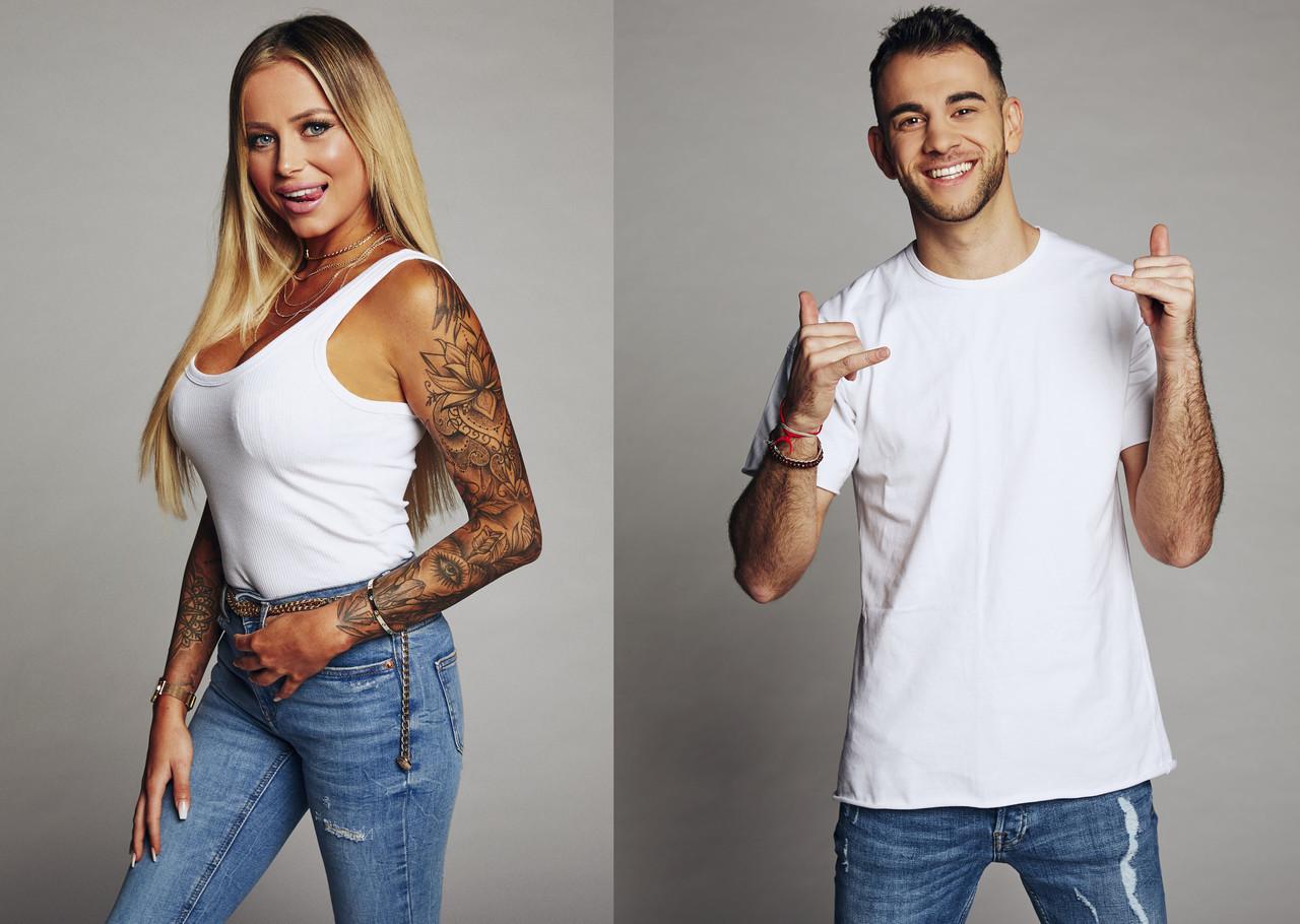 """Die """"Bachelor in Paradise""""-Kandidaten Jade und Serkan sollten für Quotenaufschwung sorgen – was nicht geklappt hat. Sat.1"""