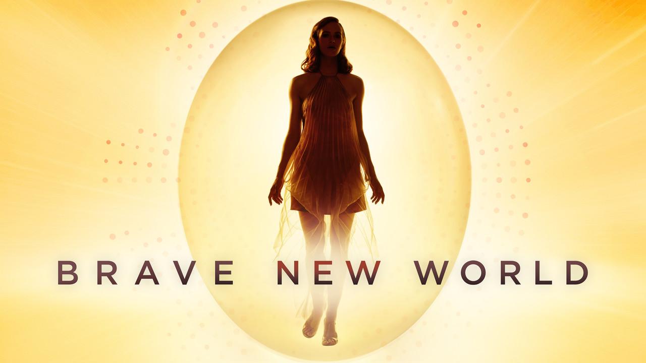 """""""Brave New World"""": Vielschichtige Vorlage, doch die Serie droht, sich in stylistischer Oberflächlichkeit zu verlieren. Peacock"""