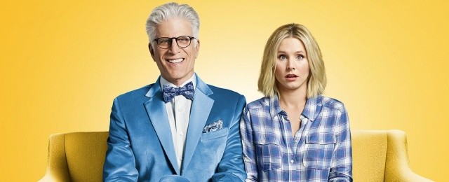 "Ted Danson und Kristen Bell in ""The Good Place"" NBC"