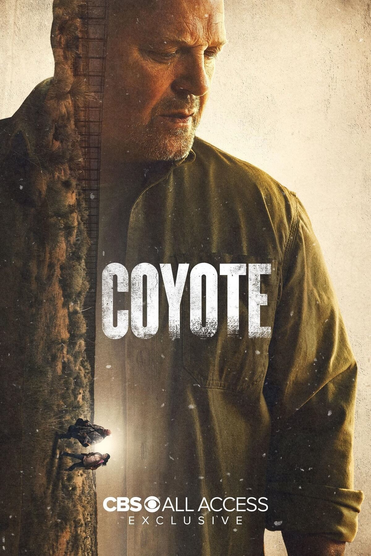 "Poster zur Serie ""Coyote"". CBS All Access"