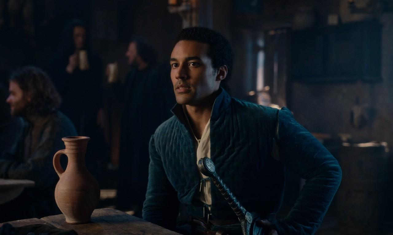 Devon Terrell als der charmante, schlitzohrige Arthur Netflix