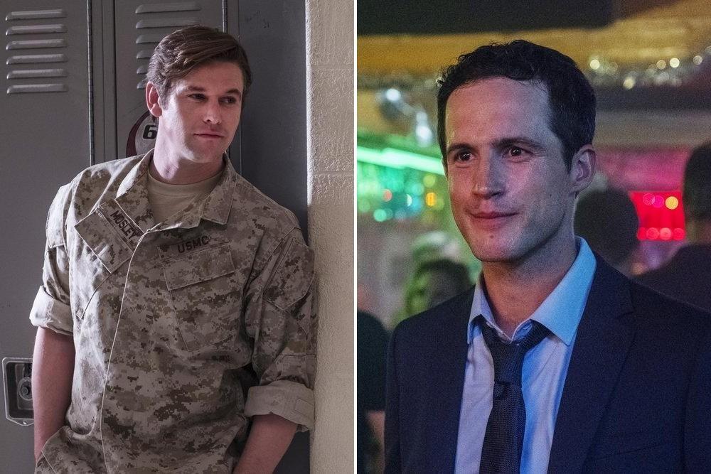 Die beiden Männer im Leben des Coaches: Ex-Freund Will Mosley (Zach Roerig, l.) – mittlerweile als Rekruter ständig an der Schule – und der glücklose Ehemann Matt (Rob Heaps) Rafy/USA Network