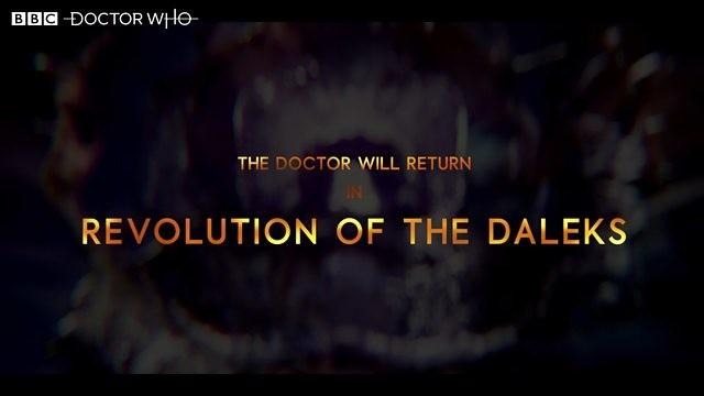 "Ankündigung zu ""Doctor Who: Revolution of the Daleks"" BBC One"
