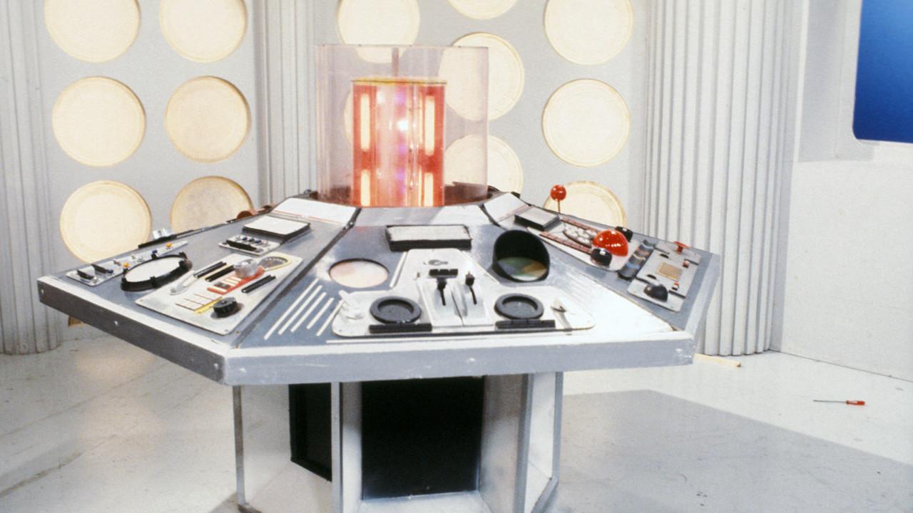 """TARDIS aus der Serie """"Doctor Who"""" (1980) BBC"""