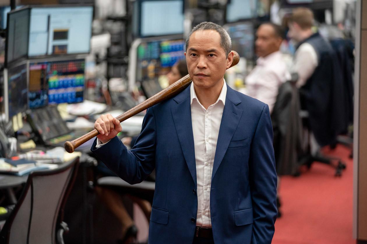 Bewaffnet mit dem Baseballschläger HBO