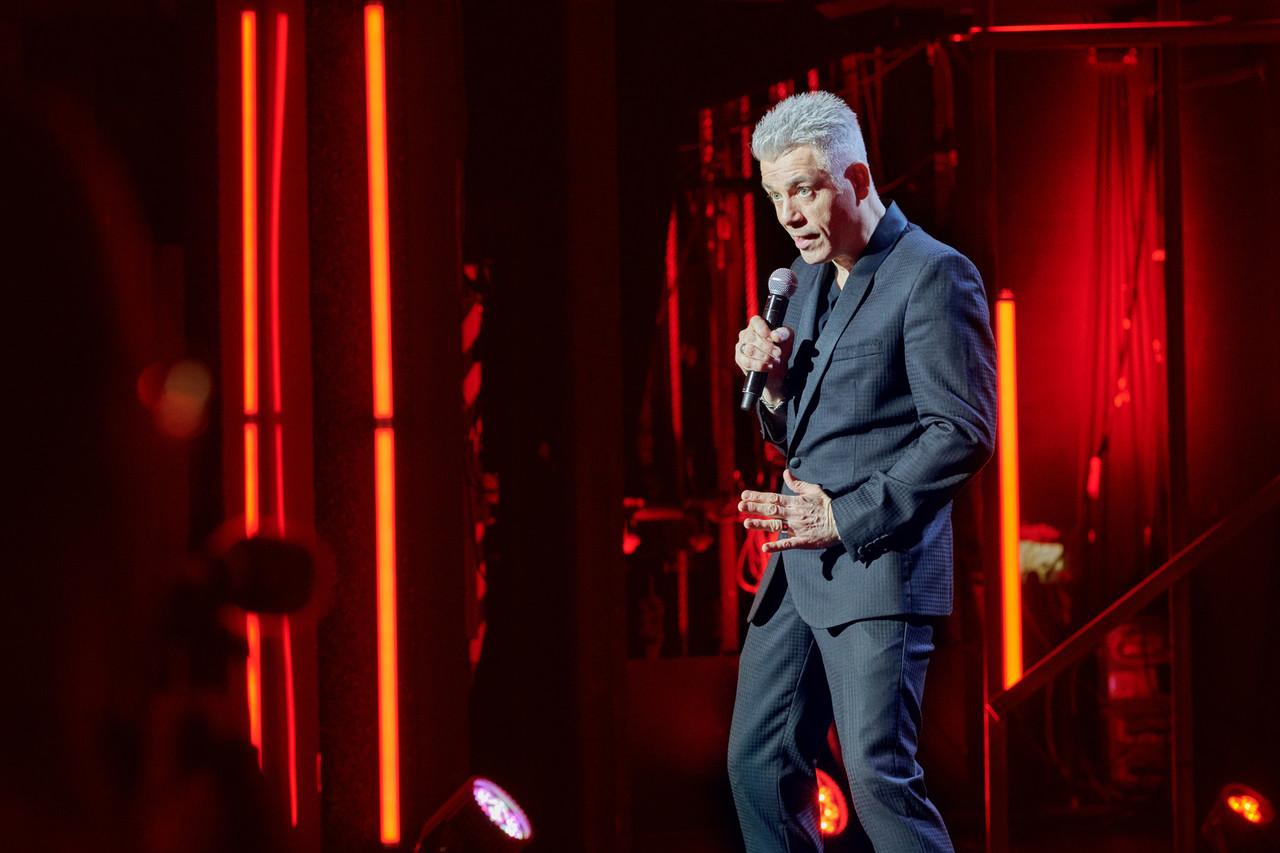 """Michael Mittermeier in seinem Programm """"Lucky Punch"""" ZDF/Olaf Heine"""