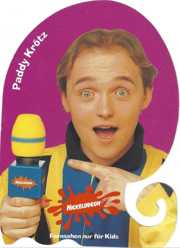 Paddys Autogrammkarte bei Nickeodeon Nickelodeon