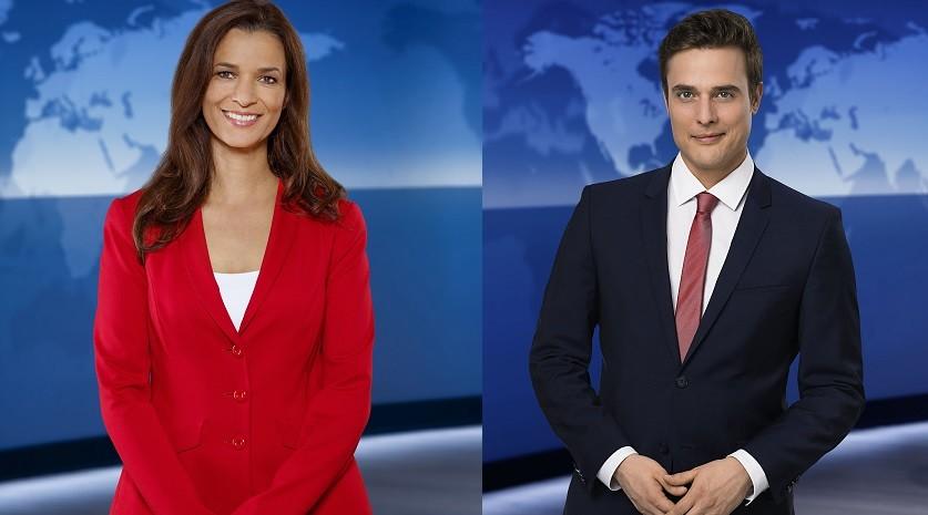 Julia-Niharika Sen und Constantin Schreiber NDR/Morris Mac Matzen/NDR/Thorsten Jander