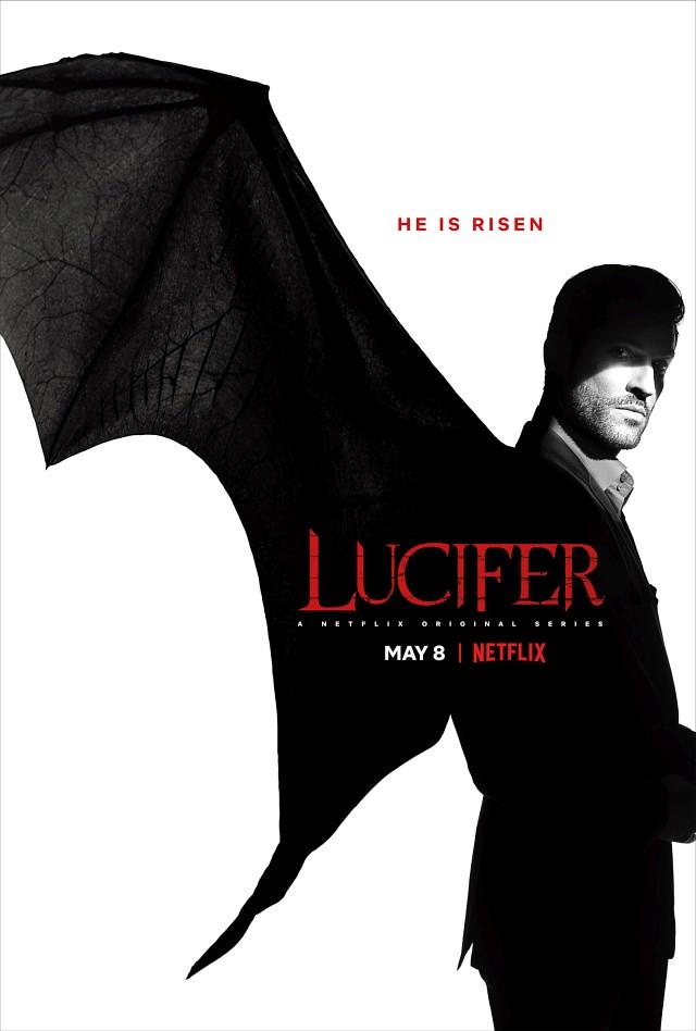"""Poster zur vierten Staffel von """"Lucifer"""" Netflix"""