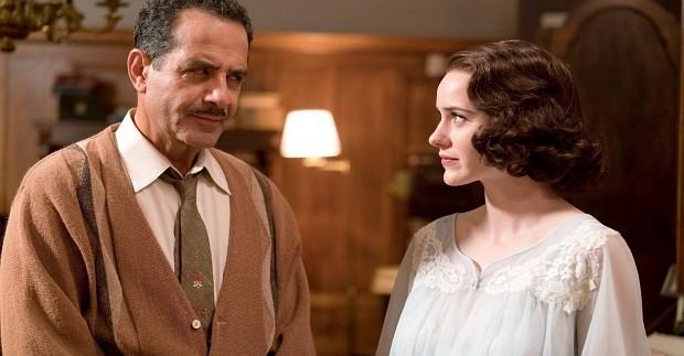 Abe Weissman (Tony Shalhoub) und seine unzähmbare Tochter Midge Maisel (Rachel Brosnahan)
