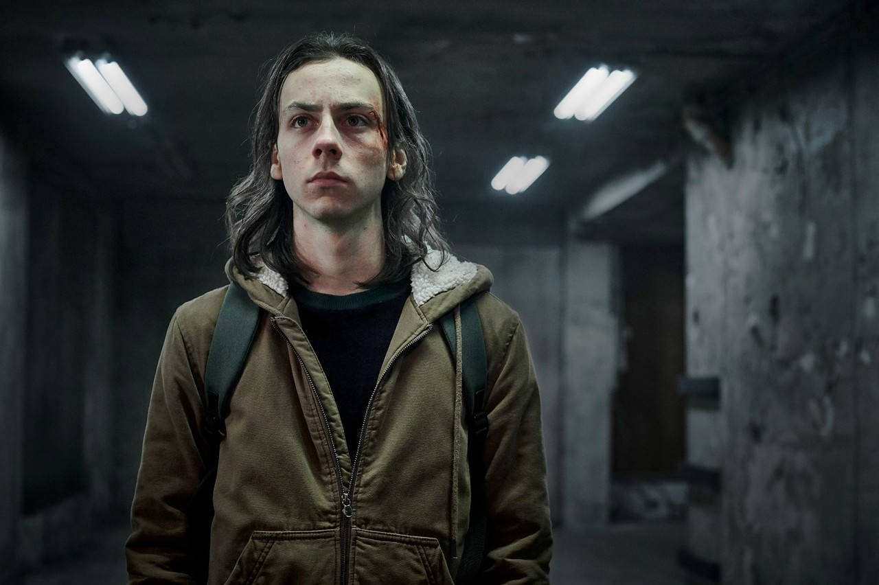 """Protagonist Juri (Tristan Göbel) in """"Hausen"""" Sky Deutschland/Lago Film GmbH/Reiner Bajo"""