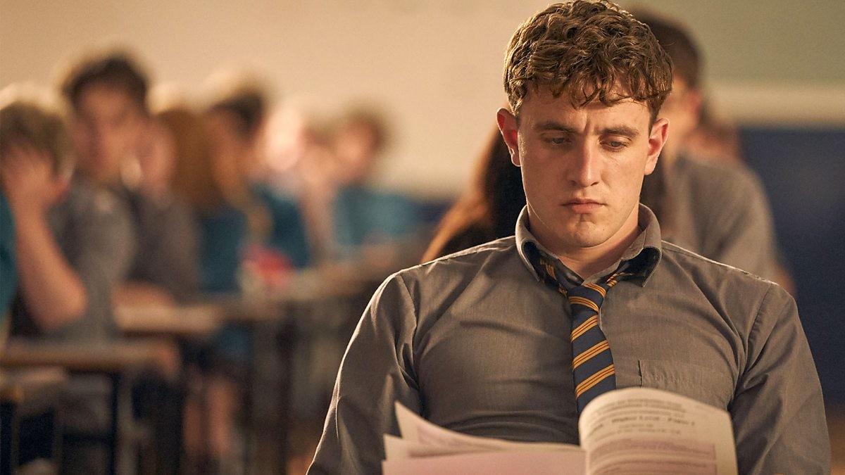 Connell (Paul Mescal), ein aufstrebender Literat. BBC three