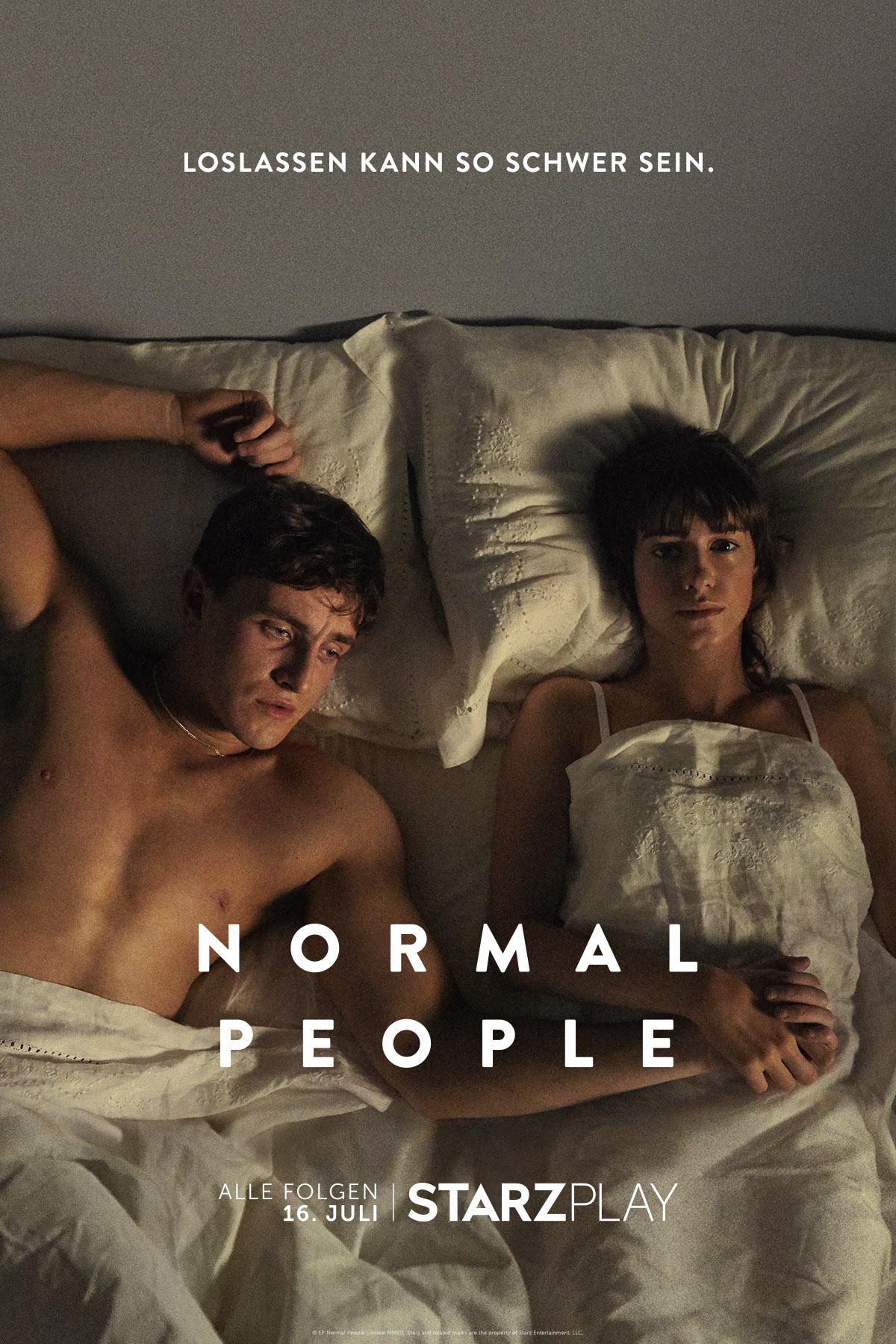 """Poster zu """"Normal People"""" von Starzplay Starzplay"""