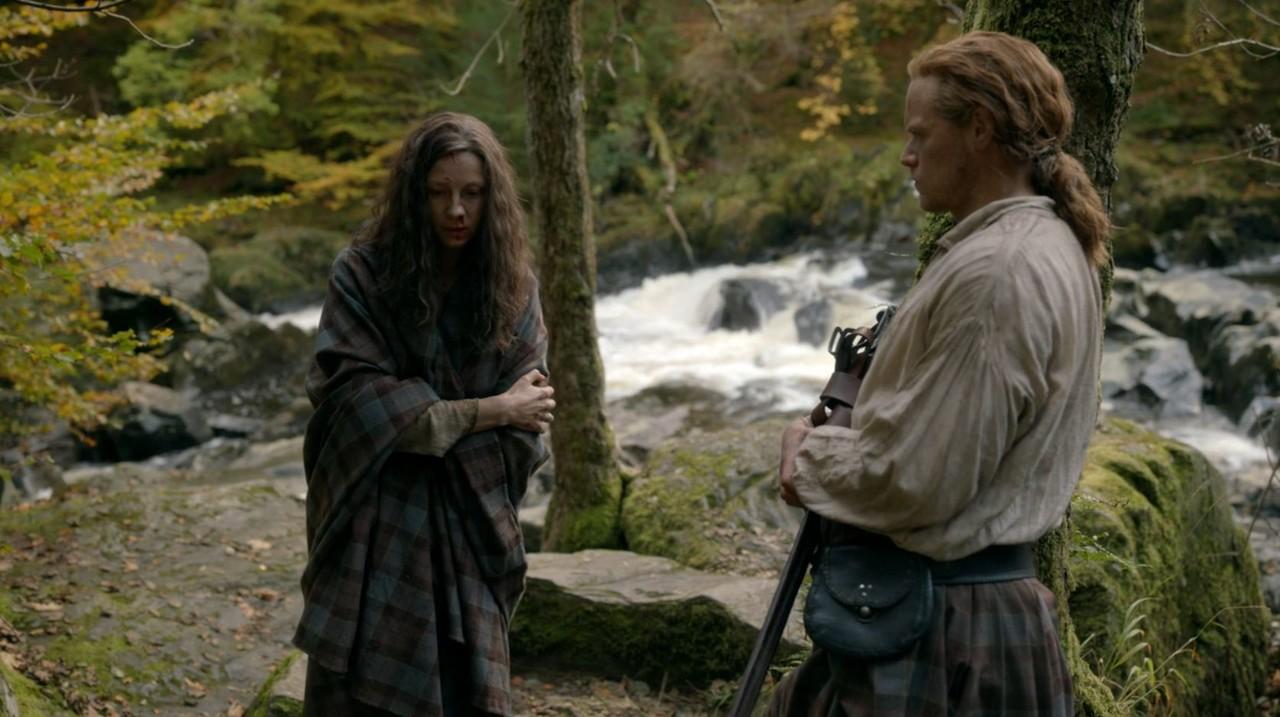 Claire (Caitriona Balfe) gibt nicht auf. Starz