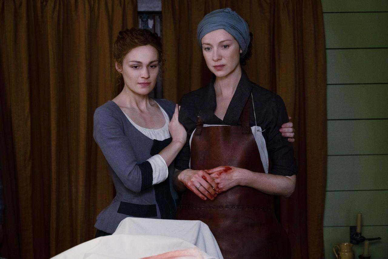 Gegen eine Vergiftung mit Quecksilber ist Claire (Caitriona Balfe) machtlos. Starz