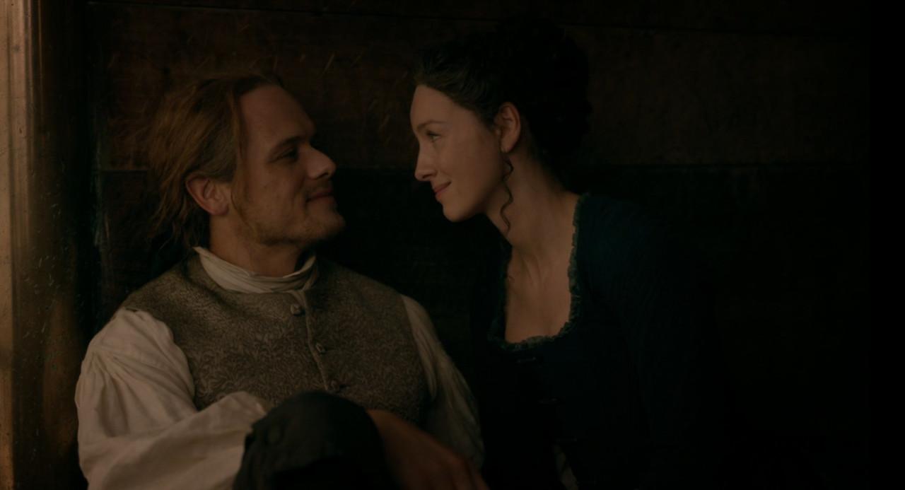 Jamie (Sam Heughan) und Claire (Caitriona Balfe) vertragen sich wieder. Starz