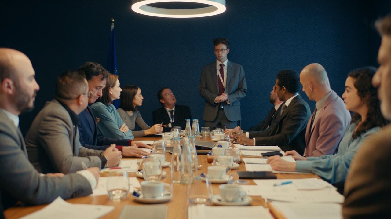 Samy (Xavier Lacaille) vor dem Ausschuss WDR/Jo Voets