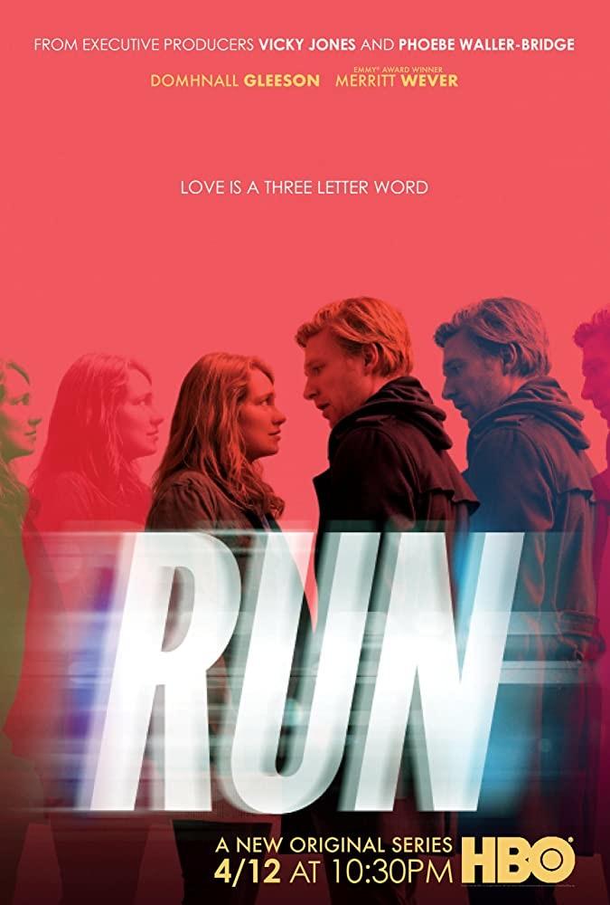 "Poster zur TV-Serie ""Run""HBO"