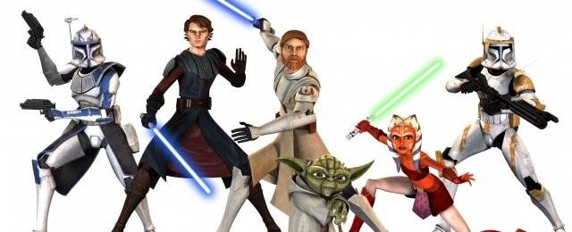 """Star Wars: The Clone Wars (Disney+, Tipp von Bernd Krannich)Im """"Star Wars""""-Universum klaffte eine gewaltige Lücke zwischen den Handlungen der Filme """"Episode II – Angriff der Klonkrieger"""" und """"Episode III – Die Rache der Sith"""". Diese sollte mit der Serie """"Star Wars: The Clone Wars"""" gefüllt werden – sie sollte den galaktischen Bürgerkrieg zeigen, wie die Jedi von Friedenswächtern zu Generälen wurden, Anakins Abwendung von der Jedi-Philosophie und auch einfach Lücken in der Handlung füllen. Dazu wurde dem jungen Jedi-Ritter Anakin Skywalker als Schülerin Ahsoka Tano beigestellt – für die jungen Zuschauer eine Identifikationsfigur. Auf der anderen Seite nimmt Klon-Trooper Rex eine wichtige Rolle ein. Aber auch andere Figuren werden beleuchtet. Zugegeben, die ersten Staffeln von """"Clone-Wars"""" richten sich an kindliche Zuschauer. Allerdings wächst der erzählerische Anspruch bereits mit Staffel zwei deutlich. Aktuell wird noch ein Teil der siebten Staffel bei Disney+ veröffentlicht. Dort ist die Serie derzeit auch verfügbar. Lucasfilm Ltd"""