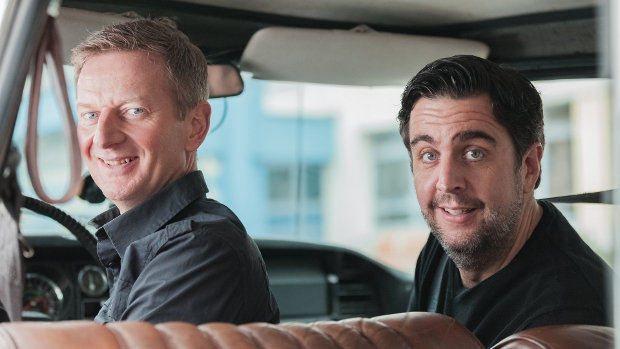 Michael Kessler und Bastian PastewkaZDF/André Beckersjürgen