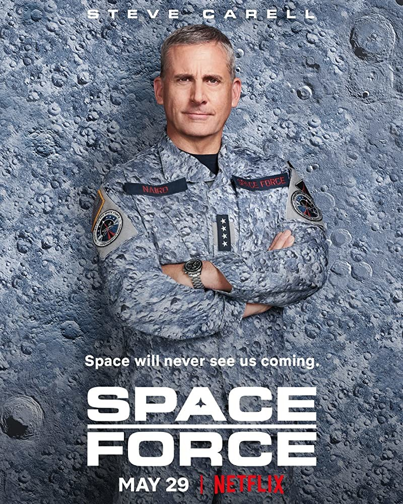 "Poster zur Serie ""Space Force"" Netflix"