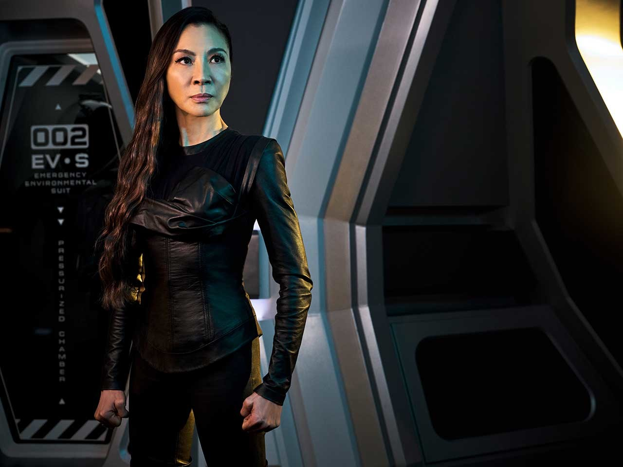 Michelle Yeoh als Imperatorin Philippa Georgiou. CBS All Access