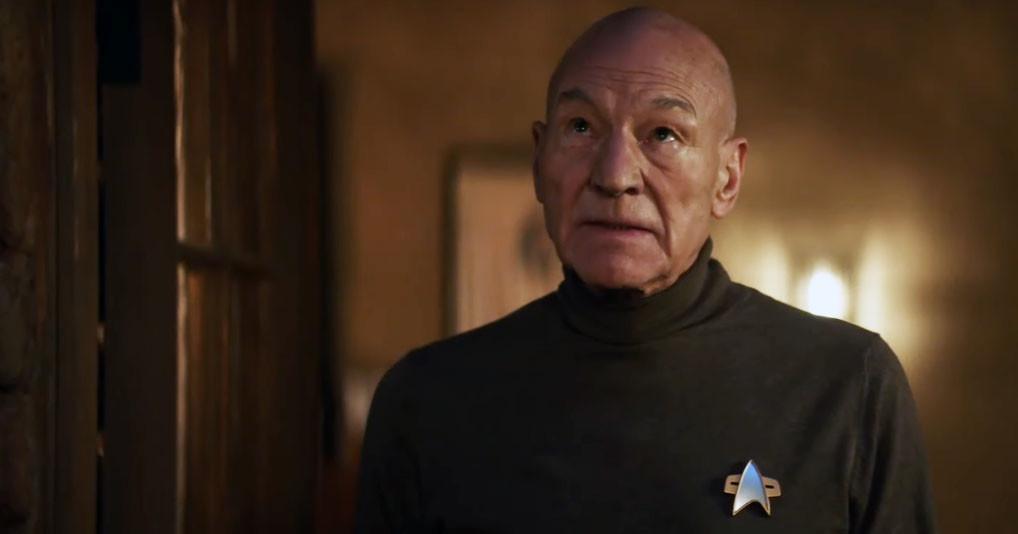 "Patrick Stewart als Jean-Luc Picard in ""Star Trek: Picard"" CBS"