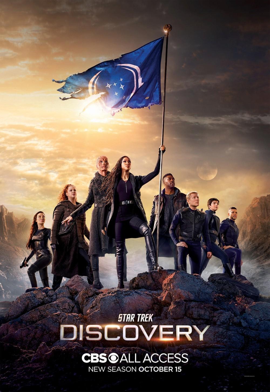 "Poster zur dritten Staffel von ""Star Trek: Discovery"" CBS All Access"