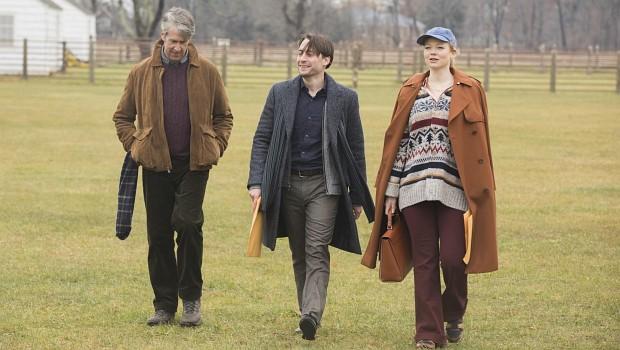 """Drei """"Königs-""""Kinder: Der Erstgeborene Connor Roy (Alan Ruck) hat mit dem Familienimperium eigentlich nichts am Hut, philosophiert mit seinen Halbgeschwistern Roman (Kieran Culkin) und Shiv (Sarah Snook)"""