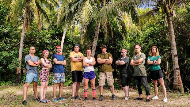 Team 1: Ingo, Sissy, Abdallah, Christian, Juliane, Holger, Bärbel, Jonah und Melanie (v.l.n.r.) TVNOW / Richard Hübner