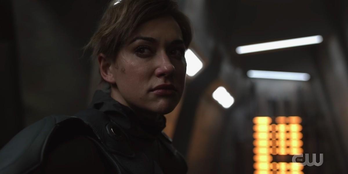 Echo (Tasya Teles) will Rache. The CW